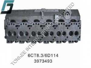 CUMMINS 6CT8.3 CYLINDER HEAD, 3973493