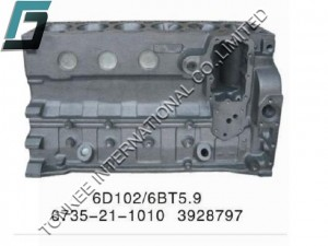 6BT5.9 CYLINDER BLOCK, 6BT5.9 CYLINDER BODY, 3928797