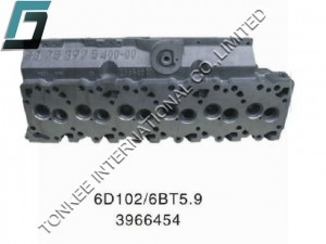 CUMMINS 6BT5.9 CYLINDER HEAD, 3966454