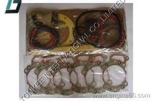 6D125 OVERHAUL GASKET KIT, KOMATSU 6D125 GASKET KIT, 6D125 ENGINE KIT, 6150-K2-1200