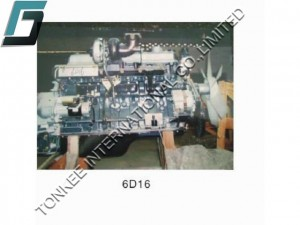 MITSUBISHI 6D16 ENGINE ASSY, 6D16 COMPLETE ENGINE