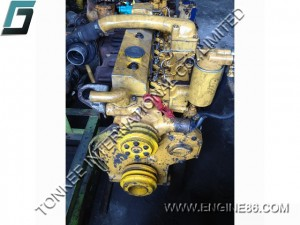 S6D95 COMPLETE ENGINE ASSY, PC200-5 complete engine, 6D95 engine