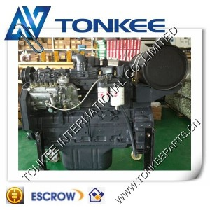 aftermarket new SAA6D102-2 complete engine for KOMATSU PC200-7 - engine86.com