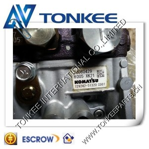 new Yanmar fuel pump 71994451330 for takeuchi tb 125 engine 3tnv82a KOMATSU 3D82 injection pump 729242-51320 - engine86.com