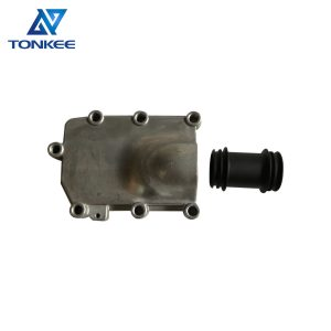 Best quality EC210B EC180B EC160B D6D excavator engine oil cooler tank 04289153 VOE20459945 VOE20886207 oil radiator tank suitable for VOLVO DEUTZ