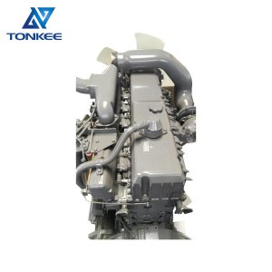 NEW ZX450 ZX650 excavator complete diesel engine assy AA-6WG1TQA 6WG1-TABEB-01-C2 6WG1 diesel engine assembly suitable for HITACHI ISUZU