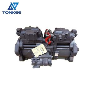 old CX210 SH200A3 excavator main pump assembly KRJ6199 K3V112DTP16AR-9N49 K3V112DTP-9N49 K3V112DTP hydraulic piston pump assy suitable for CASE SUMITOMO